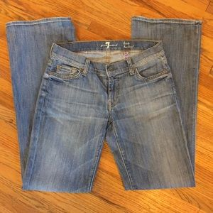 7 for all mankind jeans, Lexie bootcut, fall time